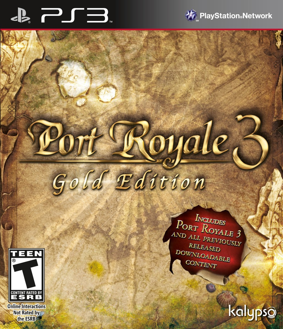 Port Royale 3: Gold Edition PS3 coverHQ (BLUS31174)