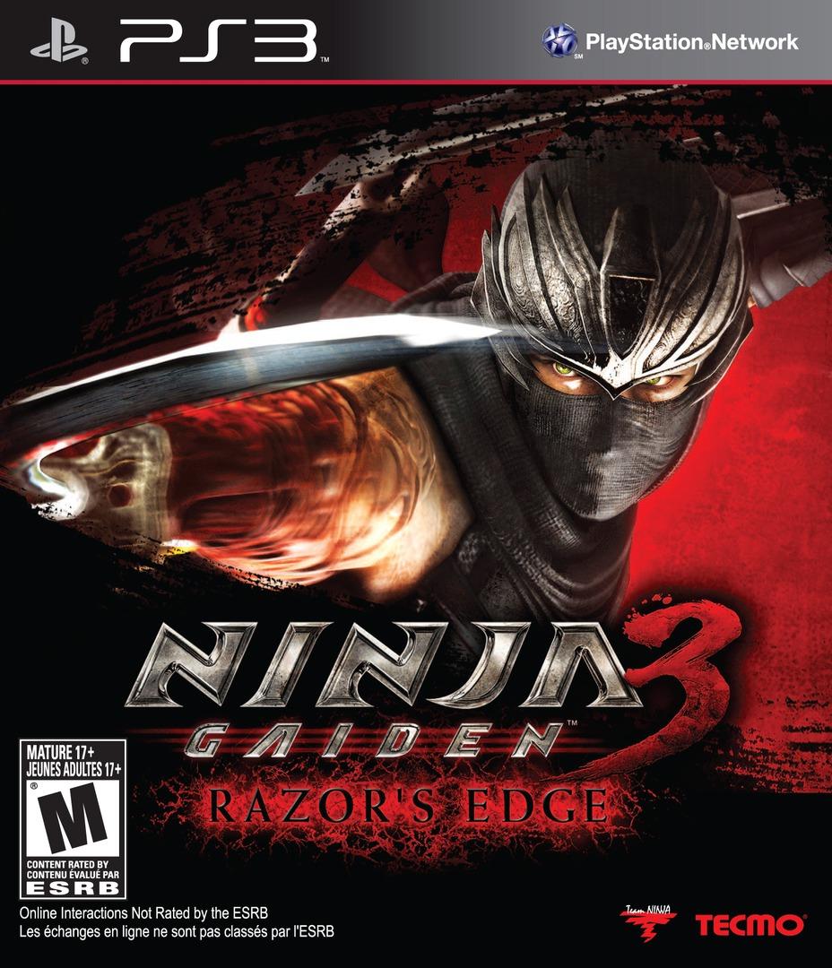 Ninja Gaiden 3: Razor's Edge PS3 coverHQ (BLUS31175)