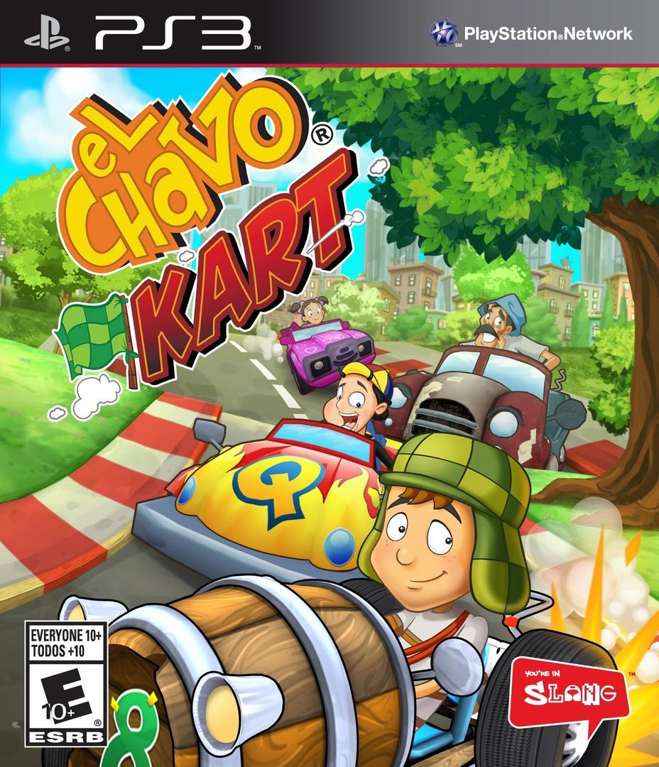 El Chavo Kart PS3 coverHQ (BLUS31198)