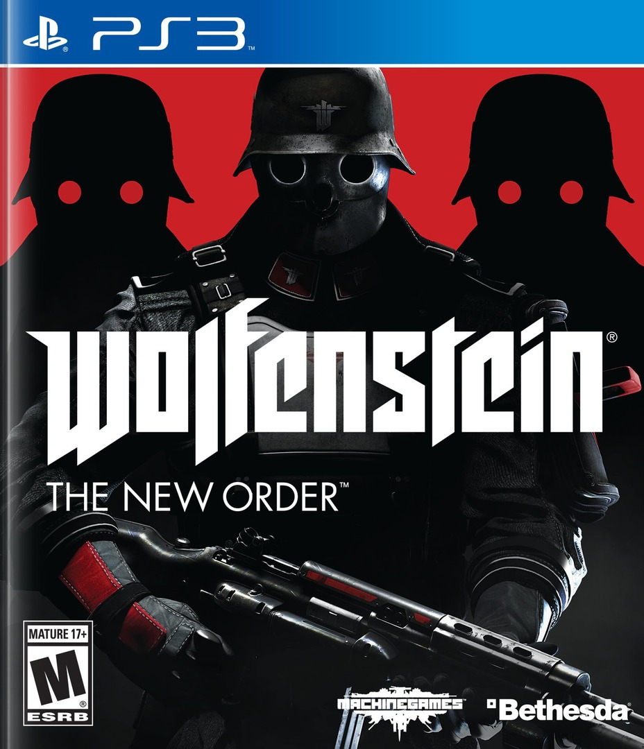 Wolfenstein: The New Order PS3 coverHQ (BLUS31220)