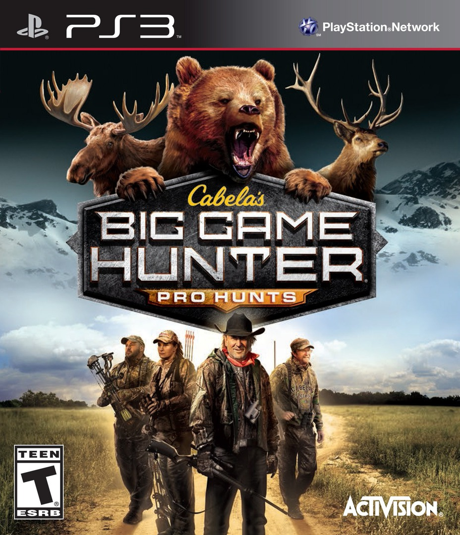 Cabela's Big Game Hunter: Pro Hunts PS3 coverHQ (BLUS31274)