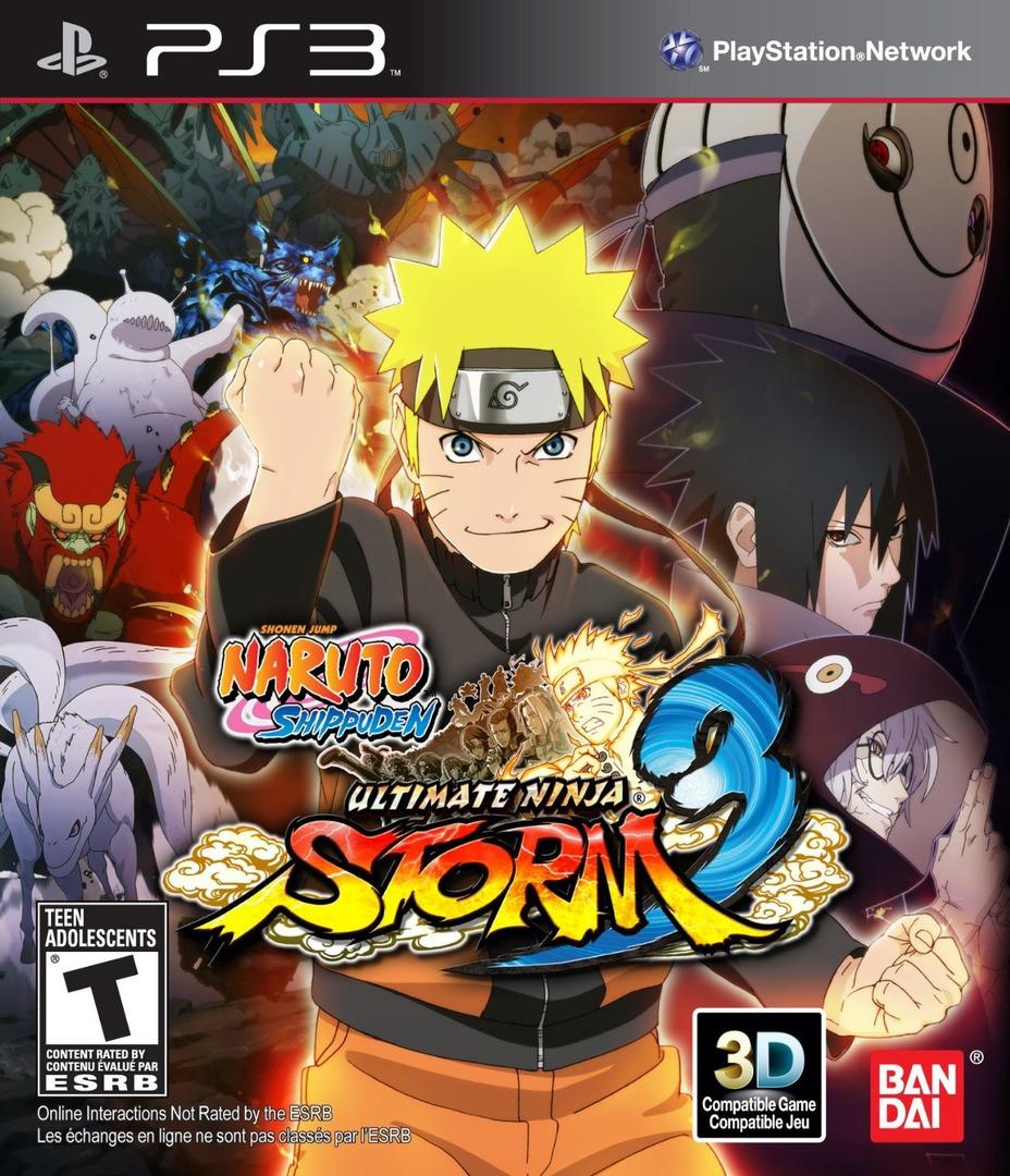 Naruto Ultimate Ninja Storm 3:Full Burst PS3 coverHQ (BLUS31350)