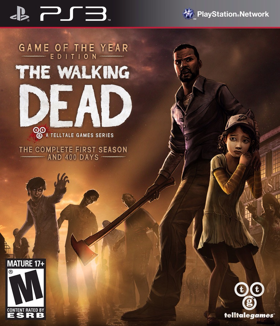 The Walking Dead PS3 coverHQ (BLUS31377)