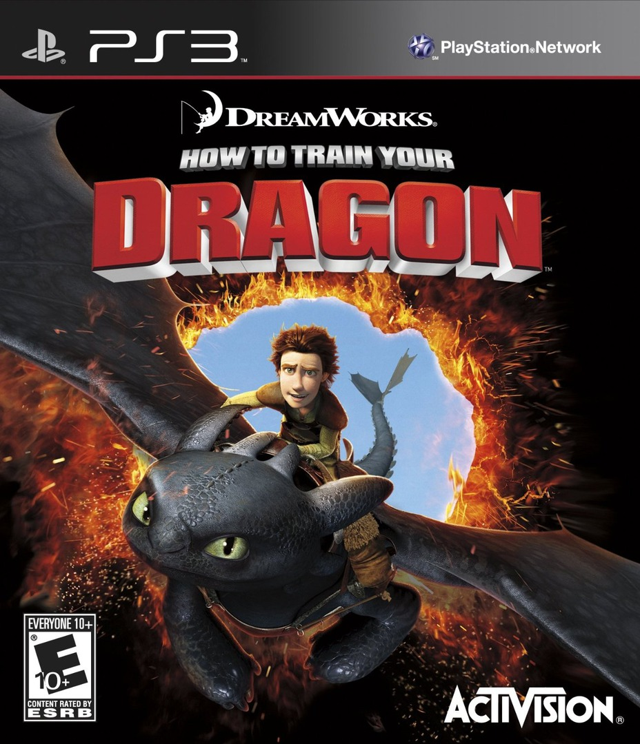 Kết quả hình ảnh cho How To Train Your Dragon 2 cover ps3