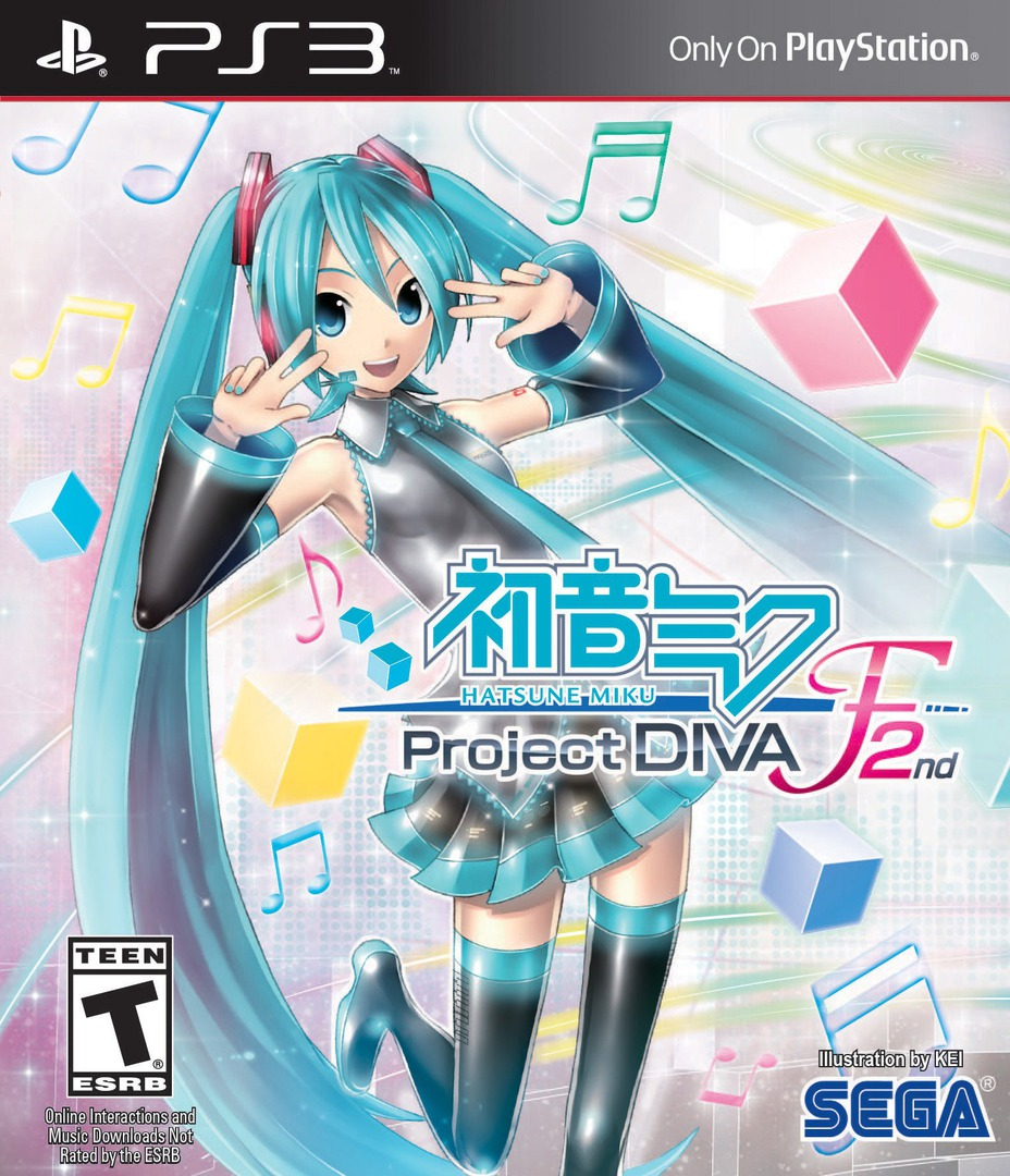 Hatsune Miku: Project F 2nd PS3 coverHQ (BLUS31431)