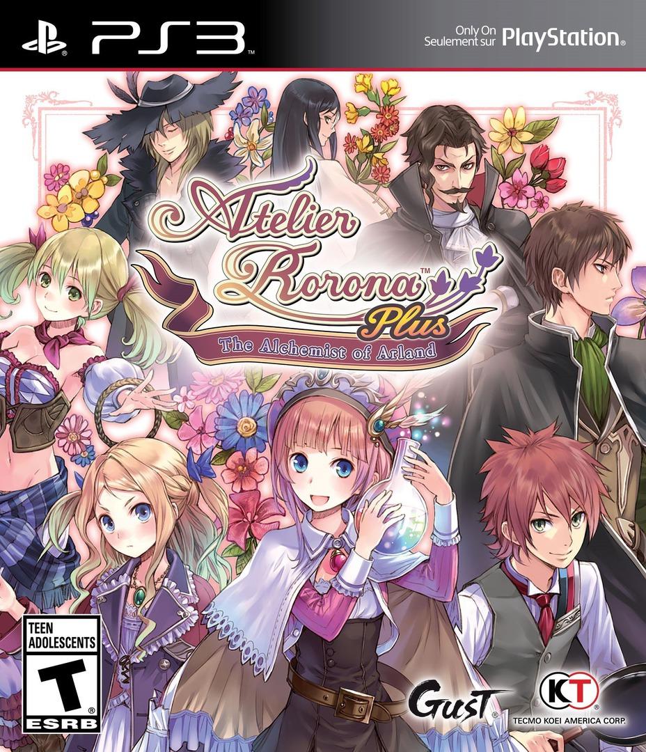 Atelier Rorona Plus: The Alchemist of Arland PS3 coverHQ (BLUS31449)