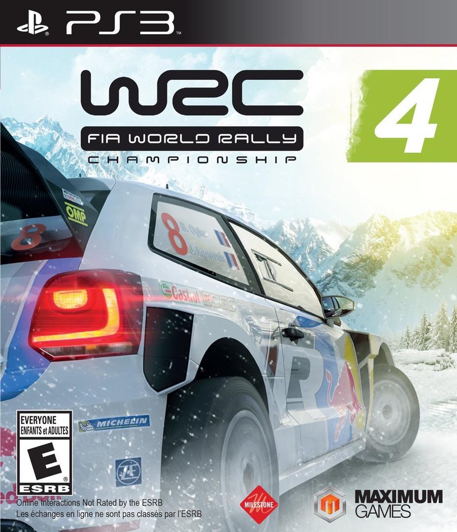 WRC 4: FIA World Rally Championship PS3 coverHQ (BLUS31509)