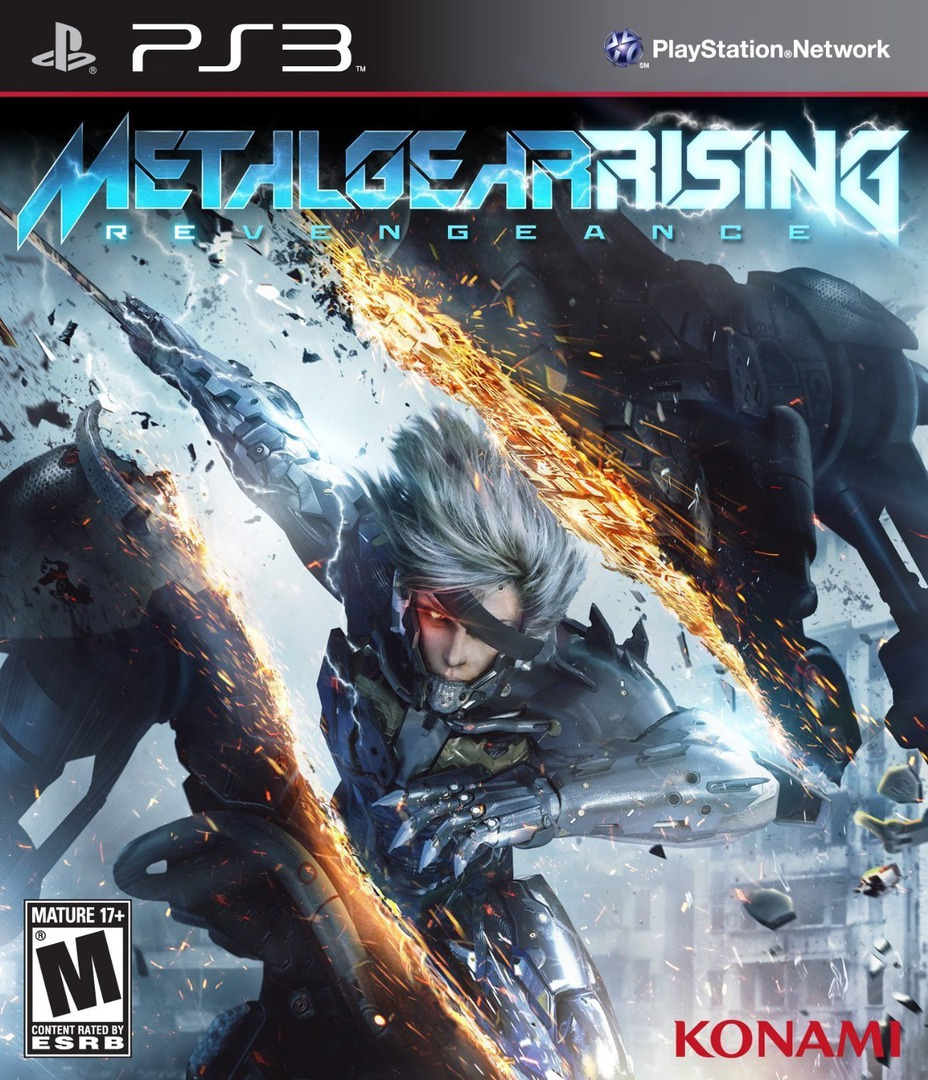 Metal Gear Rising Revengeance (Limited Edition) PS3 coverHQ (BLUS41021)