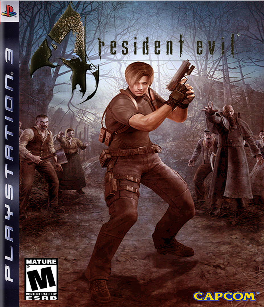 Resident Evil 4 HD PS3 coverHQ (NPEB00342)
