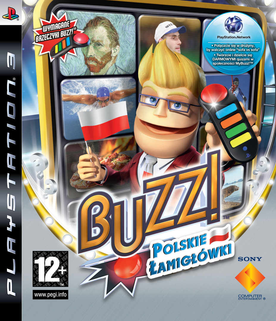 Buzz! Polskie Łanigłówki PS3 coverHQ (BCES00367)