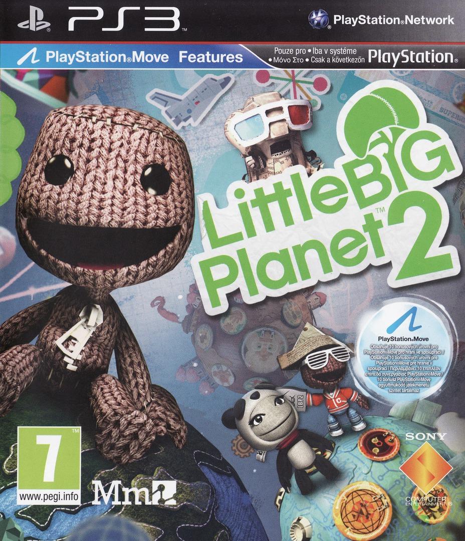 LittleBigPlanet 2 PS3 coverHQ (BCES00850)