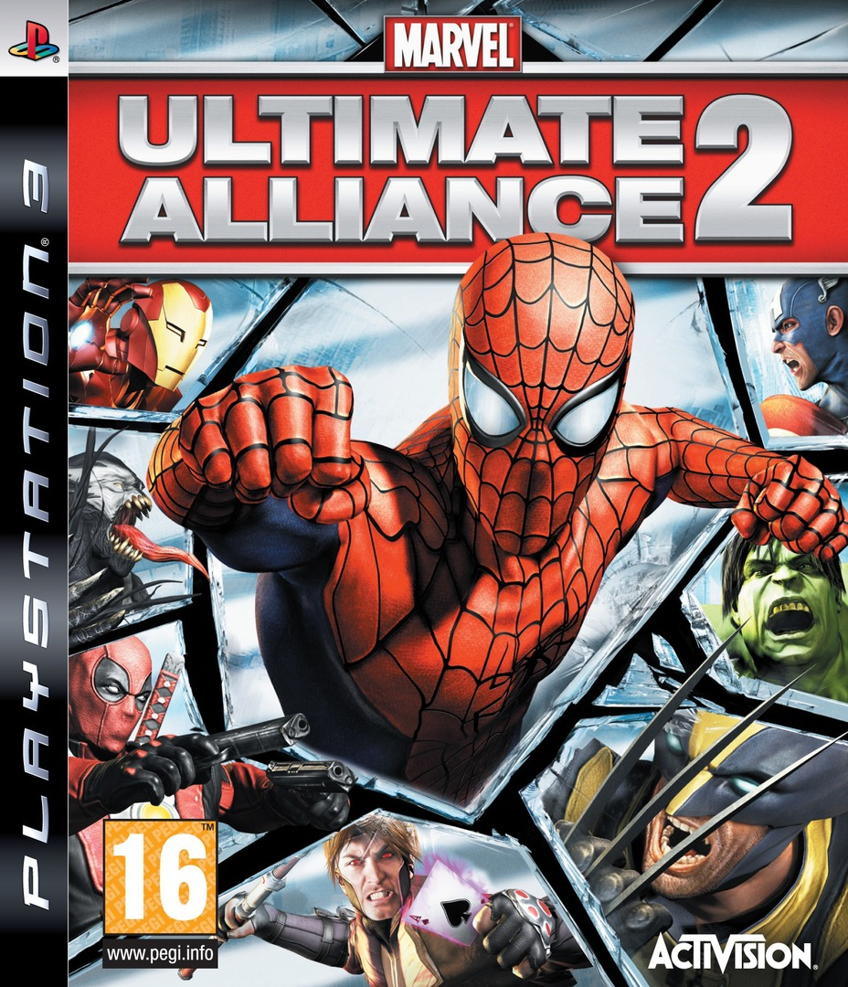 Marvel: Ultimate Alliance 2 PS3 coverHQ2 (BLES00546)