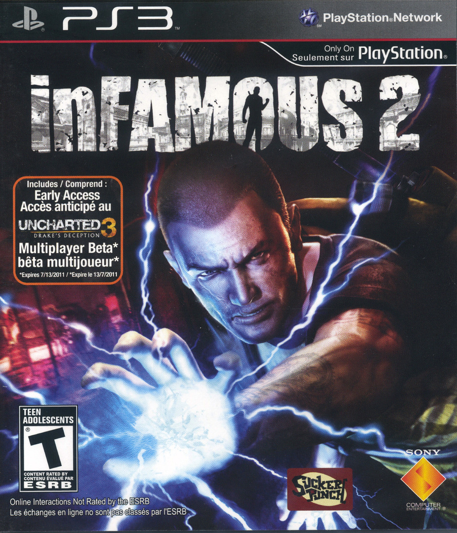 inFamous 2 PS3 coverHQ2 (BCUS98125)
