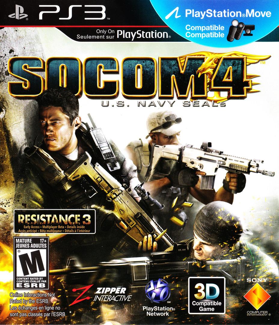 SOCOM 4: U.S. Navy SEALs PS3 coverHQ2 (BCUS98135)