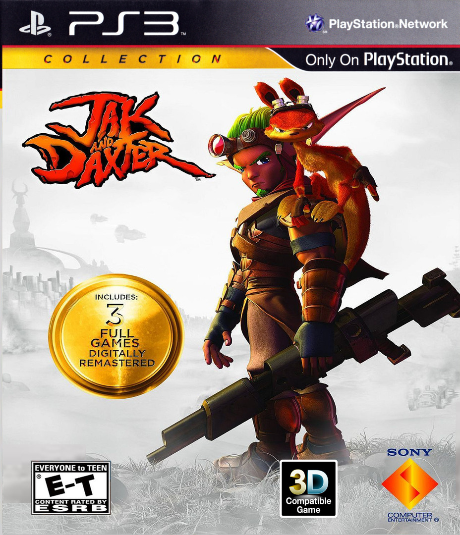 Jak & Daxter  Collection PS3 coverHQ2 (BCUS98281)