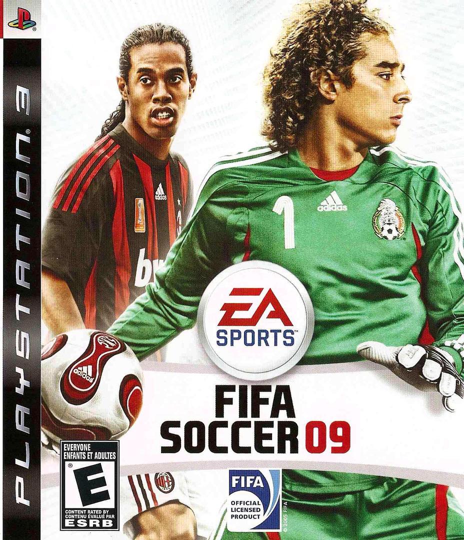FIFA Soccer '09 PS3 coverHQ2 (BLUS30176)
