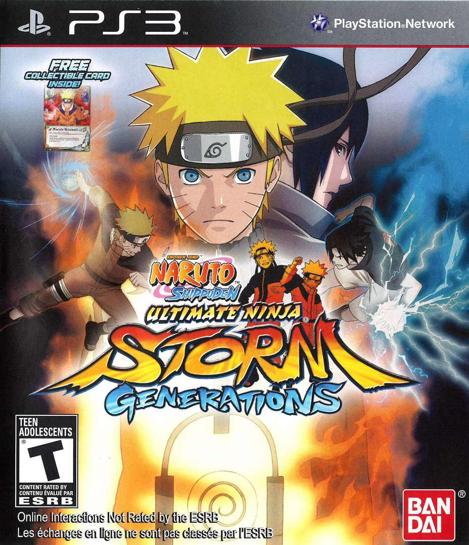 Naruto Shippuden: Ultimate Ninja Storm Generations PS3 coverHQ2 (BLUS30792)