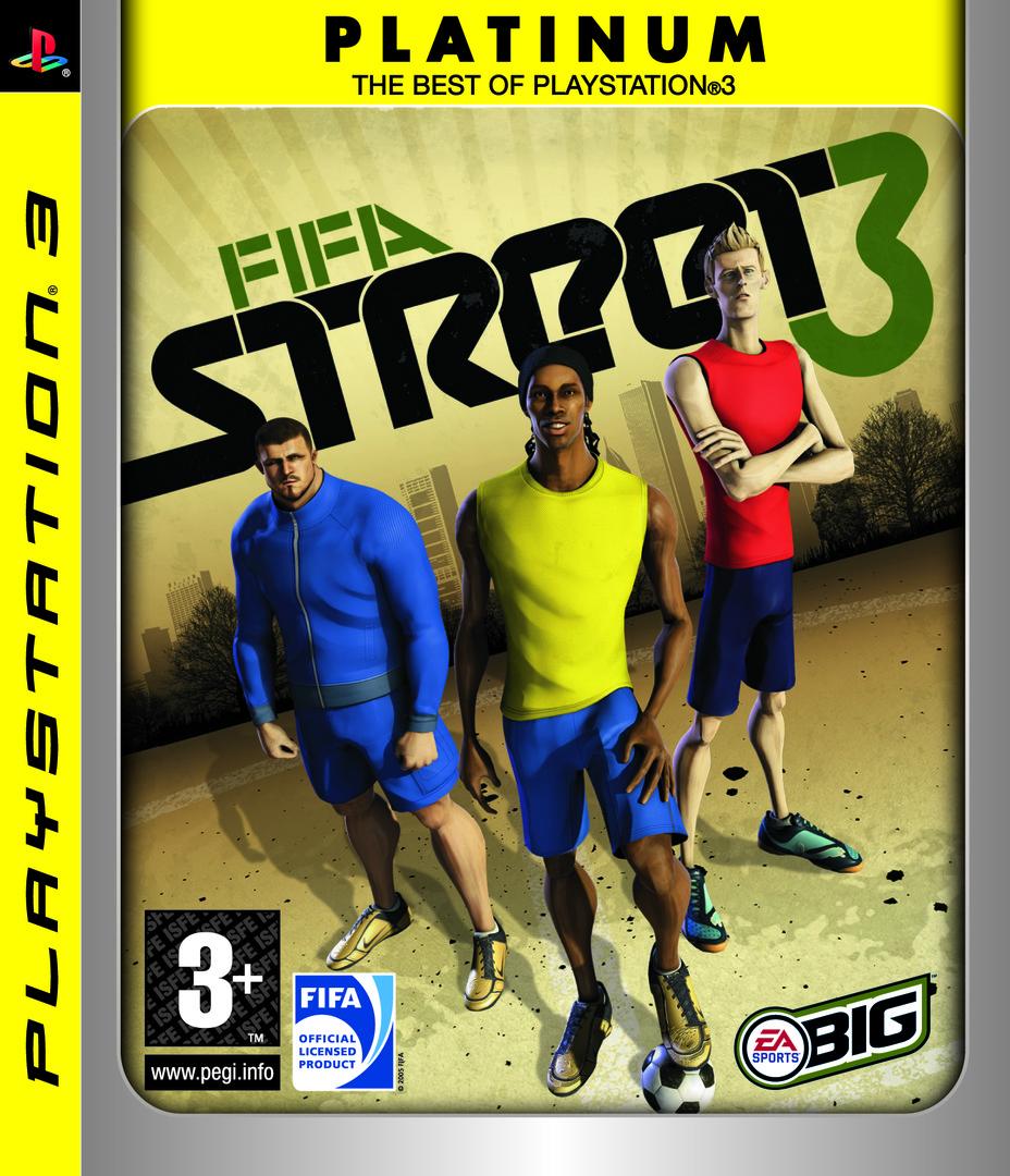 FIFA Street 3 PS3 coverHQB (BLES00188)
