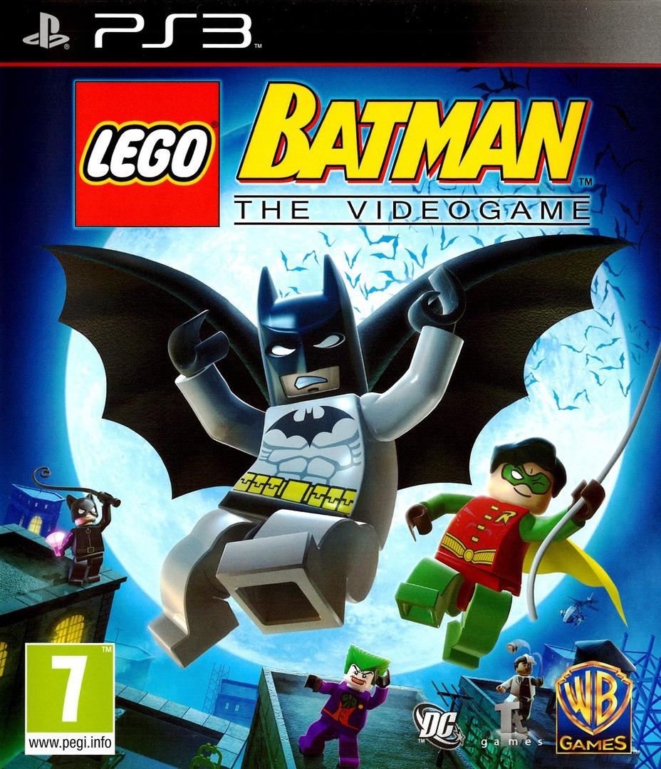 LEGO Batman: The Videogame PS3 coverHQB (BLES00332)