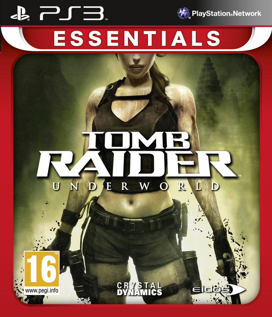 Tomb Raider: Underworld PS3 coverHQB (BLES00409)