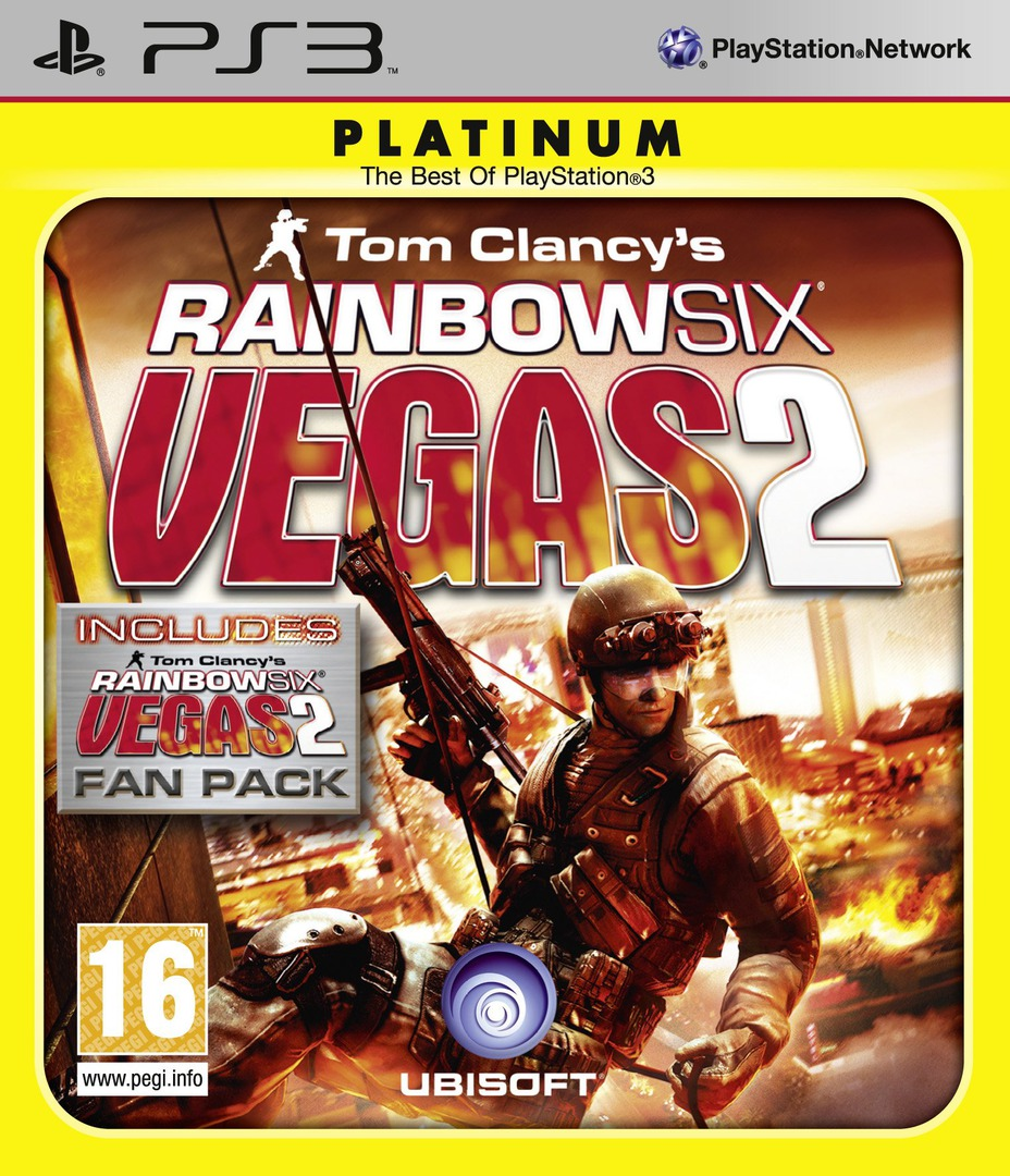 Tom Clancy's Rainbow Six Vegas 2 (Complete Edition) PS3 coverHQB (BLES00755)