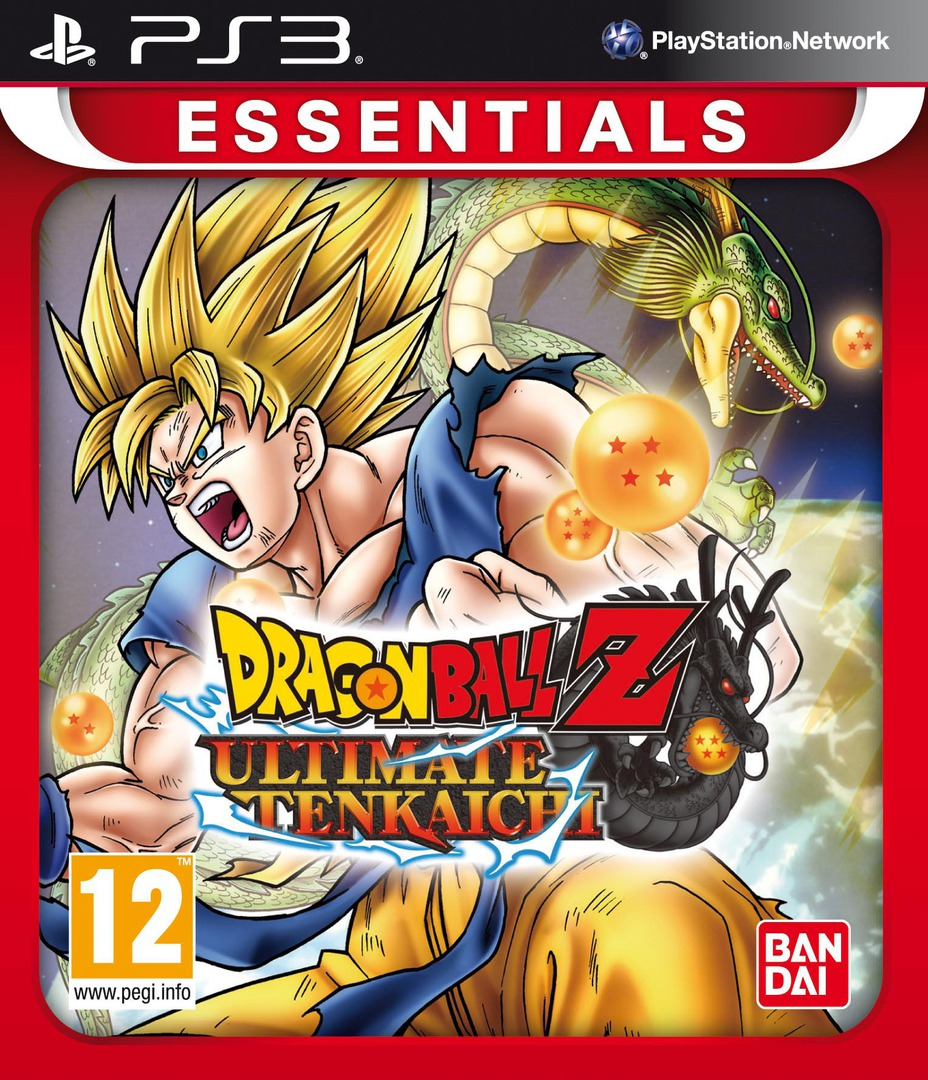 Dragon Ball Z: Ultimate Tenkaichi PS3 coverHQB (BLES01401)