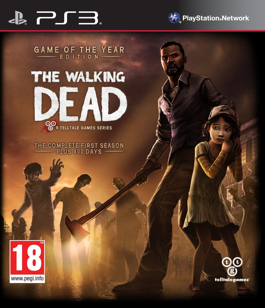The Walking Dead: A Telltale Games Series PS3 coverHQB (BLES01833)