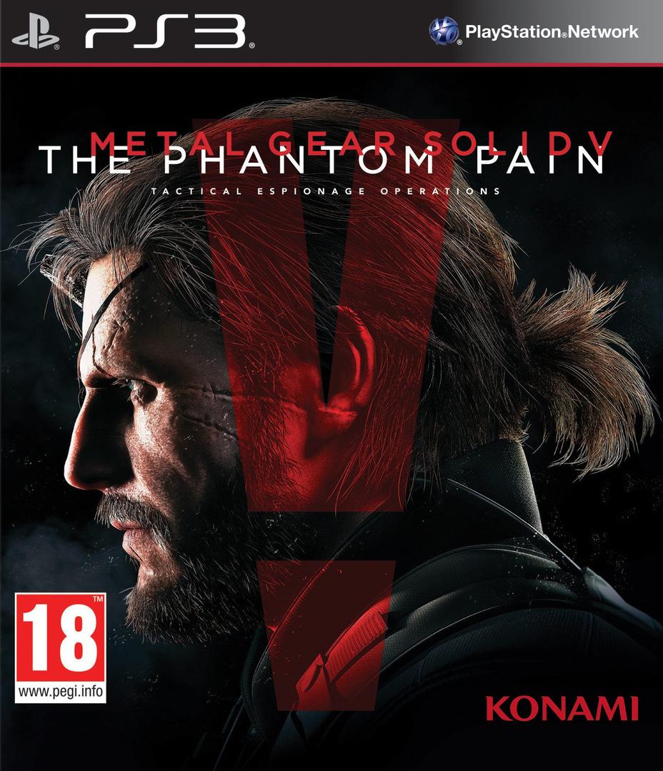 Metal Gear Solid V – The Phantom Pain PS3 coverHQB (BLES02102)