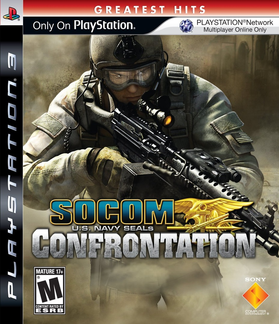 SOCOM: U.S. Navy SEALs - Confrontation PS3 coverHQB (BCUS98152)