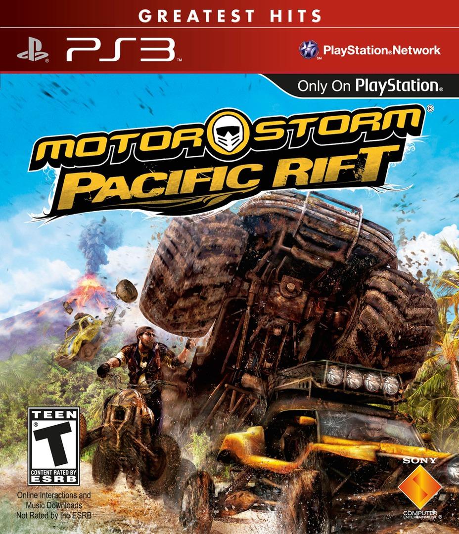 MotorStorm: Pacific Rift PS3 coverHQB (BCUS98155)