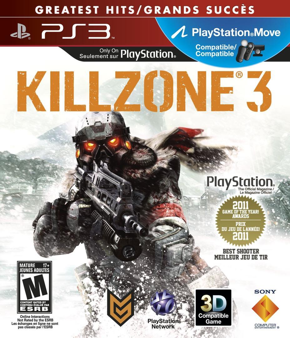 Killzone 3 PS3 coverHQB (BCUS98234)