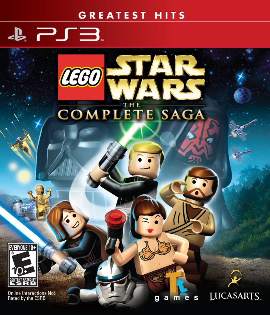 LEGO Star Wars: The Complete Saga PS3 coverHQB (BLUS30079)