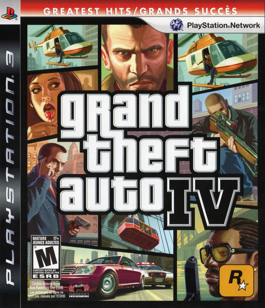 Grand Theft Auto IV PS3 coverHQB (BLUS30127)