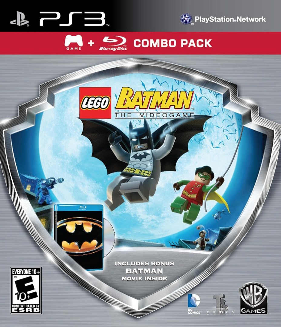 LEGO Batman: The Videogame PS3 coverHQB (BLUS30175)