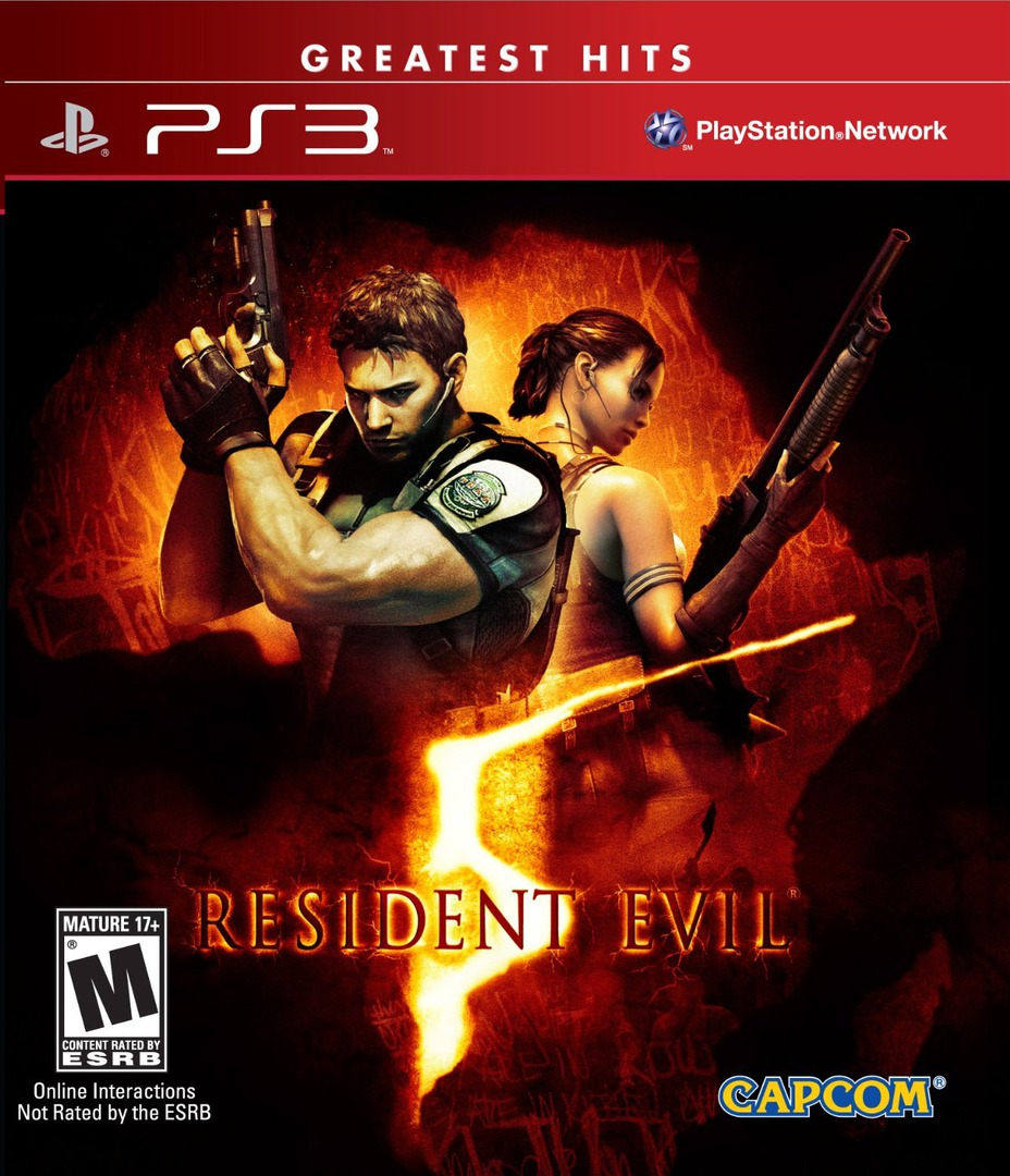 Resident Evil 5 PS3 coverHQB (BLUS30270)