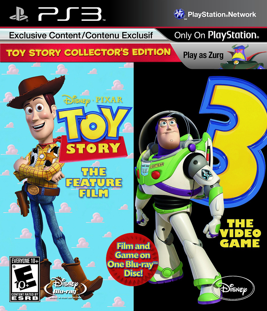 Toy 3 Games : Blus toy story