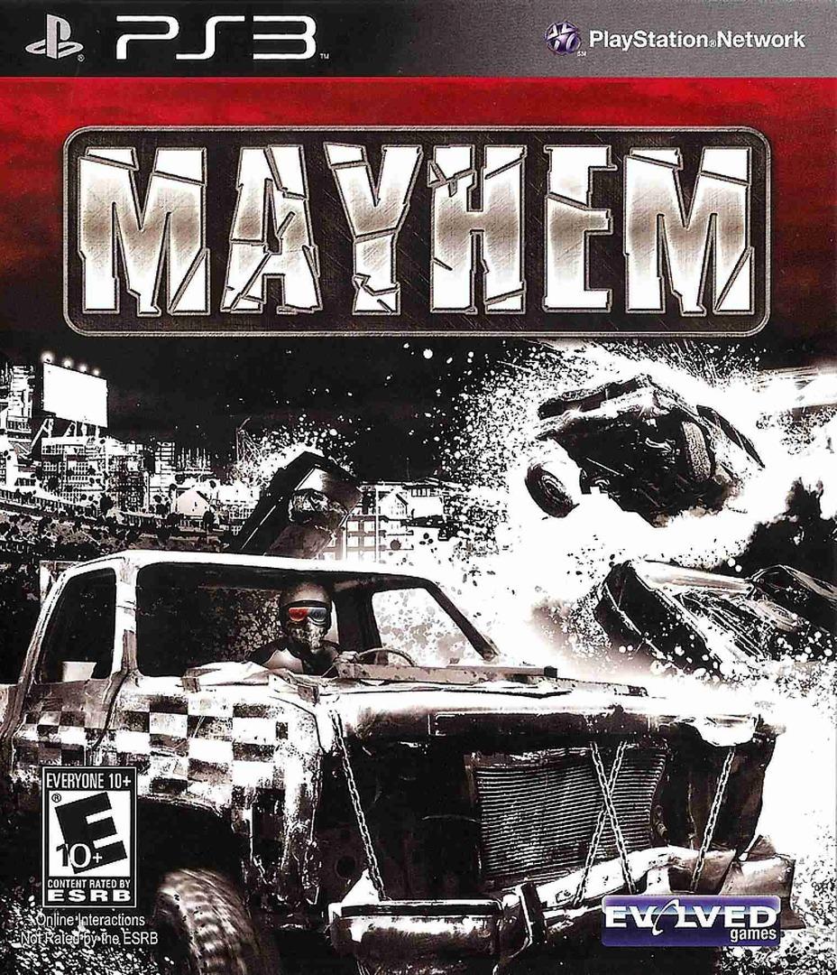 Mayhem PS3 coverHQB (BLUS30694)
