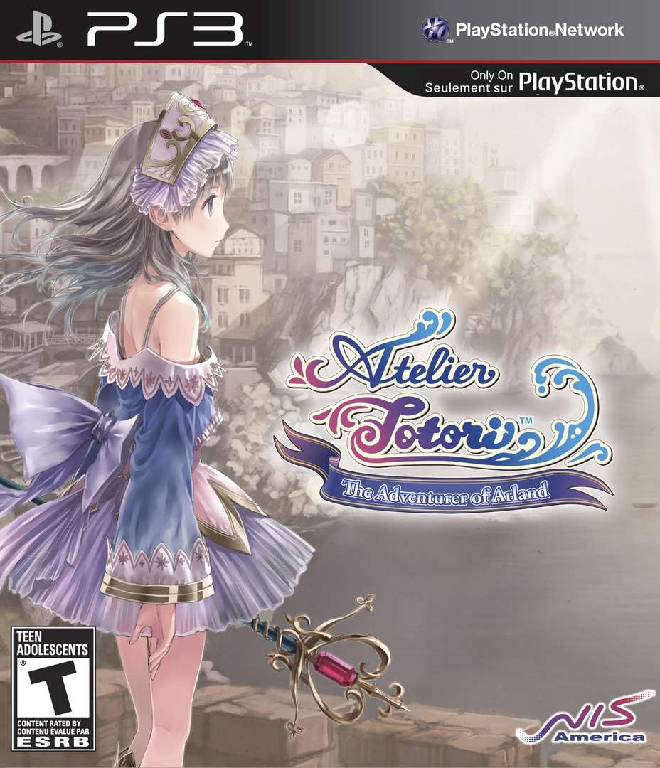 Atelier Totori: The Adventurer of Arland PS3 coverHQB (BLUS30735)