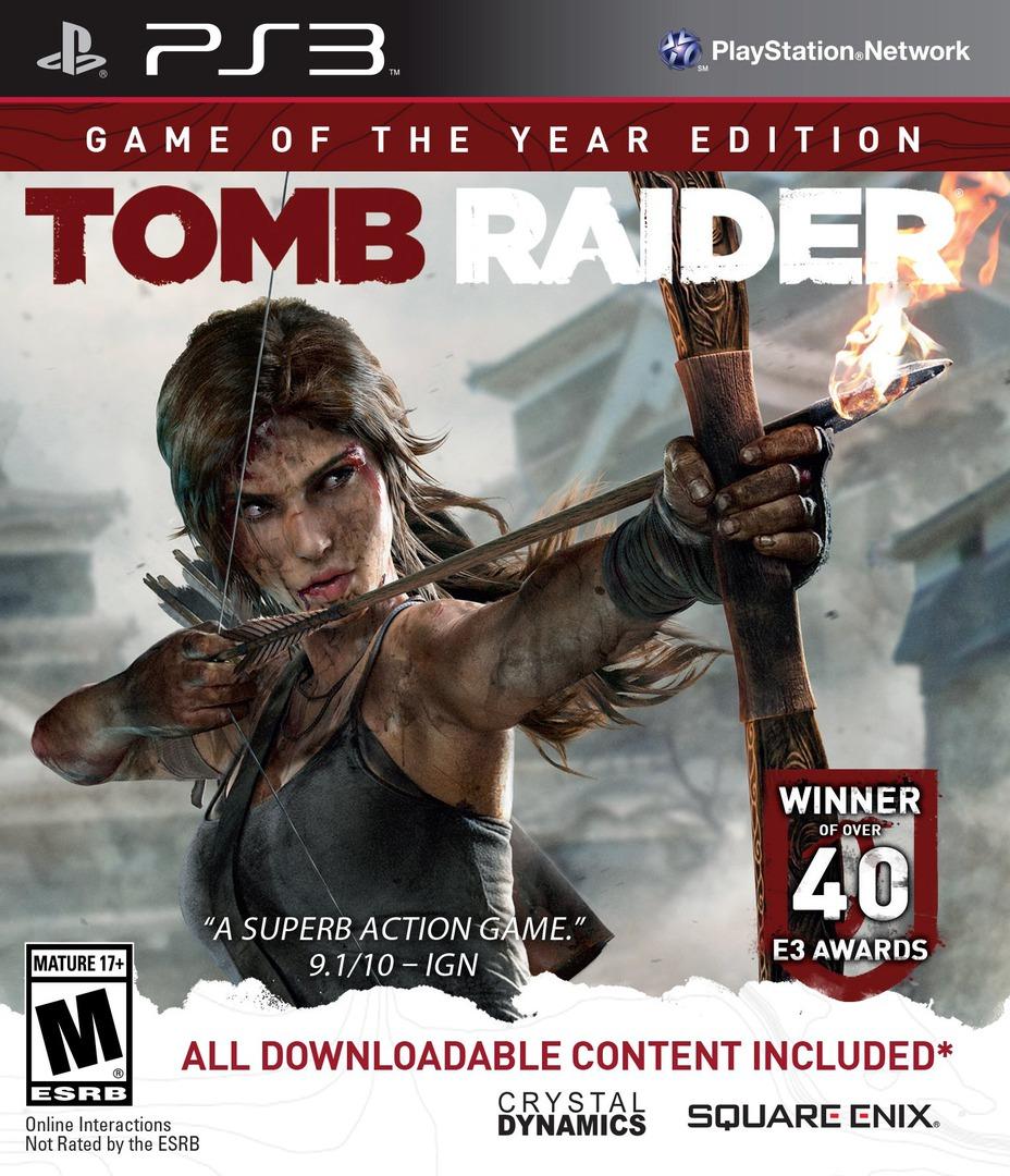 Tomb Raider PS3 coverHQB (BLUS31036)