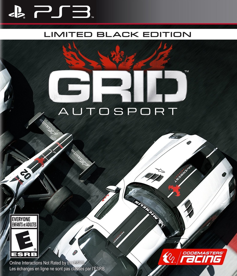 GRID Autosport PS3 coverHQB (BLUS31452)