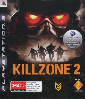 Killzone 2 PS3 coverM (BCES00081)