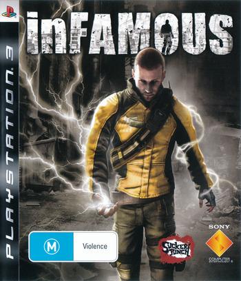 inFamous PS3 coverM (BCES00609)