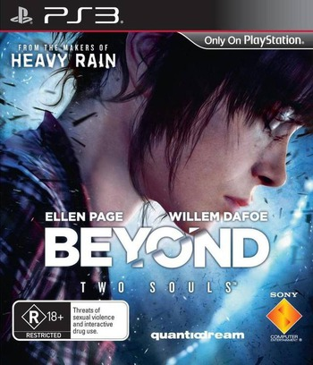 Beyond: Two Souls PS3 coverM (BCES01121)