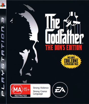 The Godfather: The Don's Edition PS3 coverM (BLES00043)