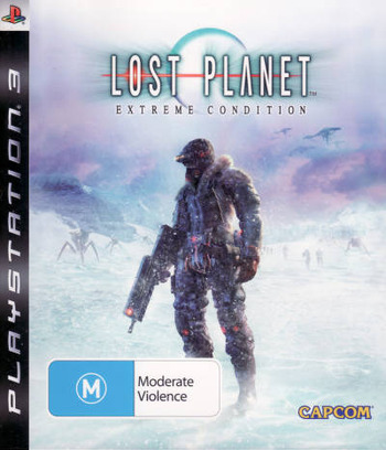 Lost Planet: Extreme Condition PS3 coverM (BLES00198)
