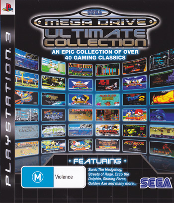 Sega Mega Drive: Ultimate Collection PS3 coverM (BLES00475)