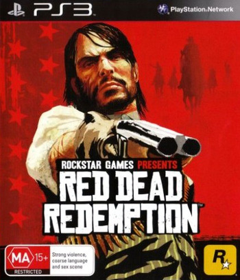 Red Dead Redemption PS3 coverM (BLES00680)