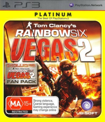 Tom Clancy's Rainbow Six Vegas 2 (Complete Edition) PS3 coverM (BLES00755)