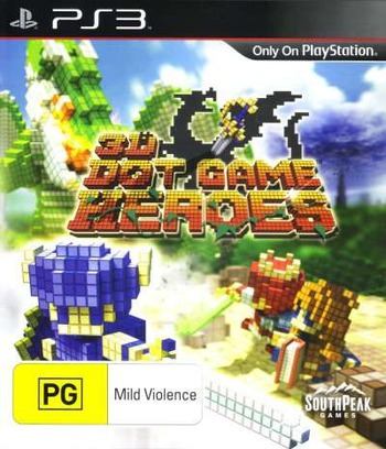 3D Dot Game Heroes PS3 coverM (BLES00875)
