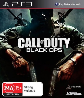 Call of Duty: Black Ops PS3 coverM (BLES01031)